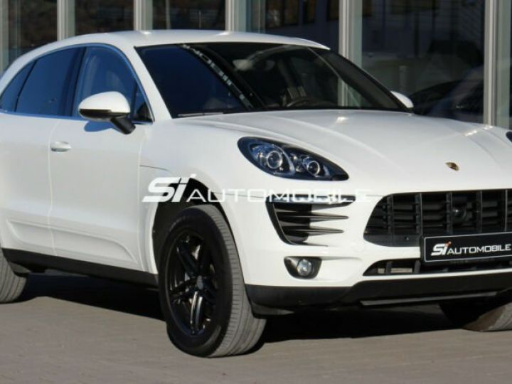 Porsche Macan S Diesel  Blanc Pure White - 4