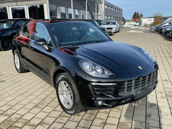 Porsche Macan  S Diesel,1ere Main Noir - 3