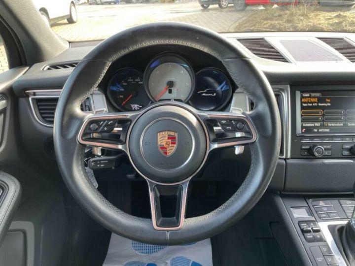 Porsche Macan  S Diesel,1ere Main Noir - 13