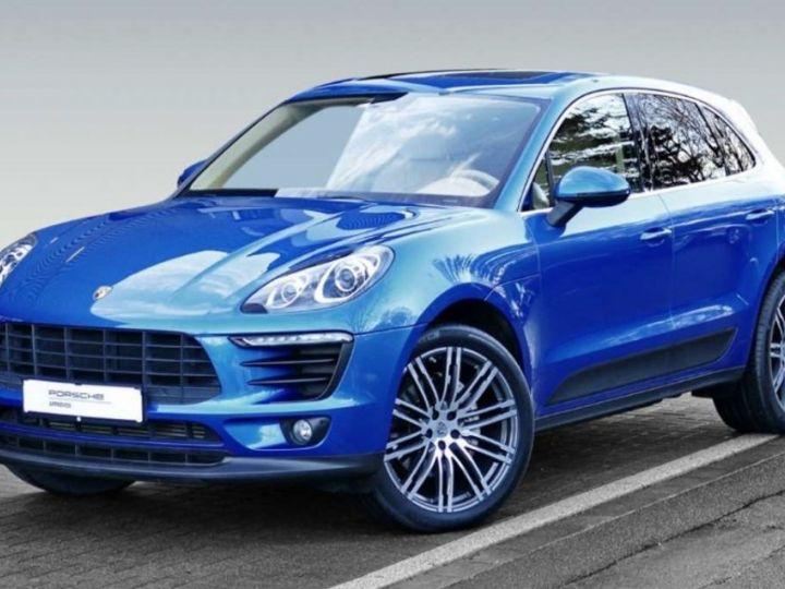 Porsche Macan S Diesel / 3.0 V6 258cv *Limited Edition* Carte grise+Livraison+Gtie 12 mois INCLUS! Bleu Saphir - 1
