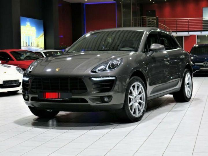 Porsche Macan # S Diesel *BOSE*PDLS*NAVI*KAM #  Gris Peinture métallisée - 1