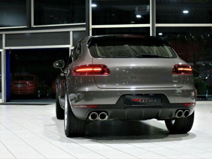 Porsche Macan # S Diesel *BOSE*PDLS*NAVI*KAM #  Gris Peinture métallisée - 3