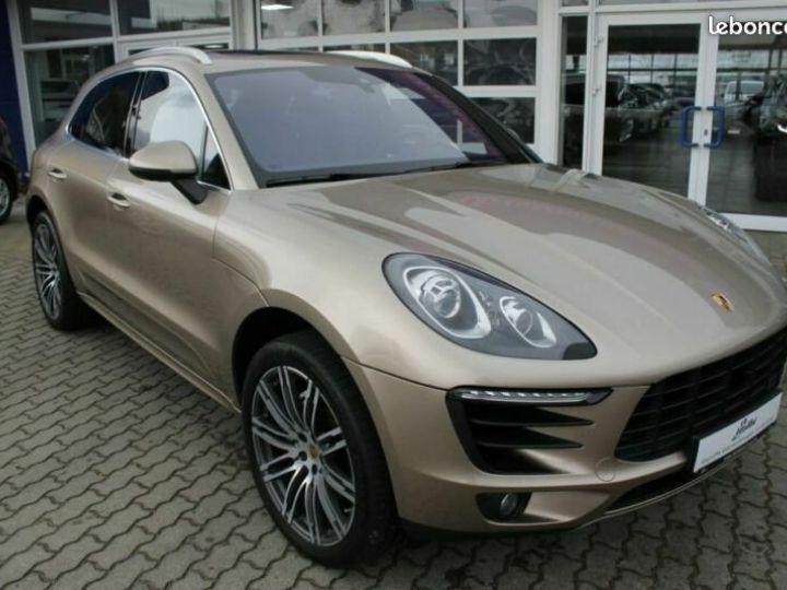 Porsche Macan S PDK Beige - 1