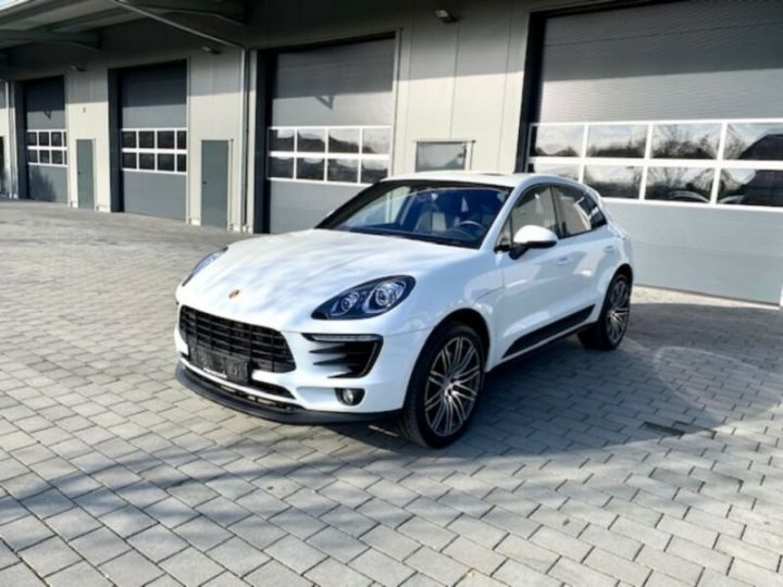 Porsche Macan S PDK blanc - 1