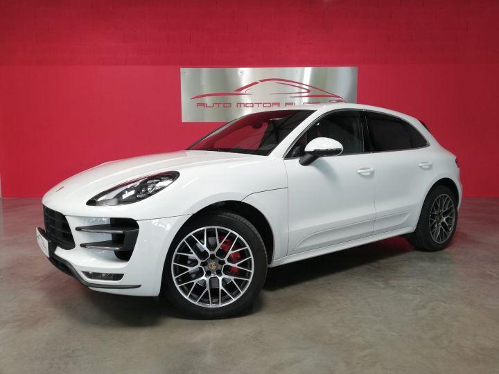 Porsche Macan TURBO Blanc - 1