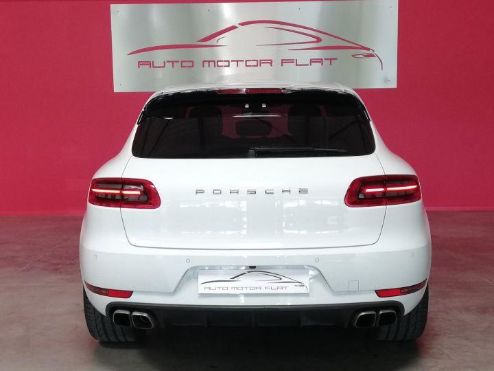 Porsche Macan TURBO Blanc - 3