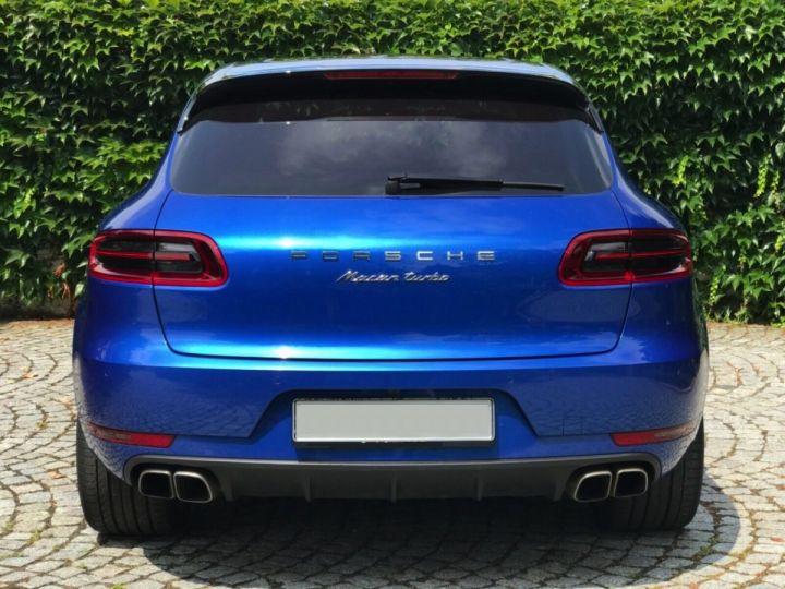 Porsche Macan TURBO 3.6 400 CH BLEU - 6