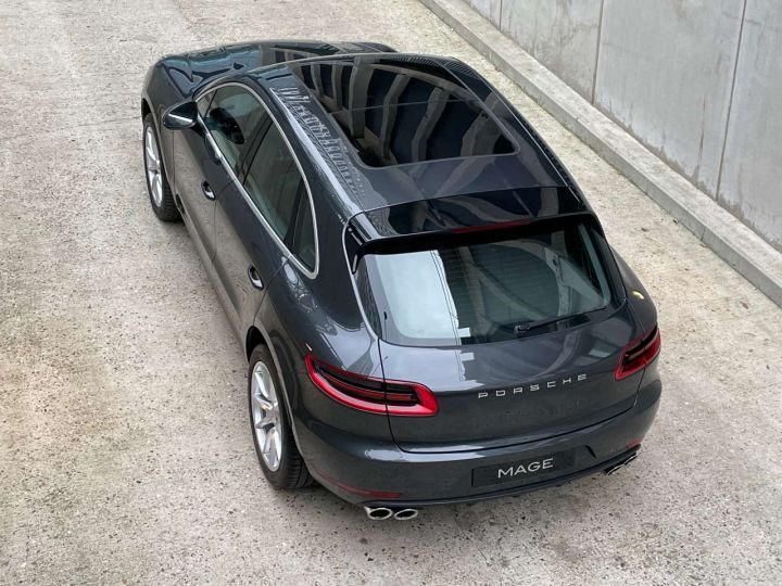 Porsche Macan Turbo 3.6 V6 440 ch Pack Performance PDK Gris Occasion - 15