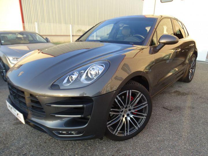Porsche Macan TURBO 400CH 3.6L PDK/ FULL Options gris agate met - 2