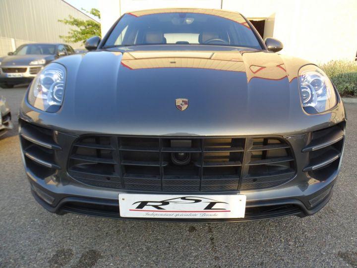 Porsche Macan TURBO 400CH 3.6L PDK/ FULL Options gris agate met - 4