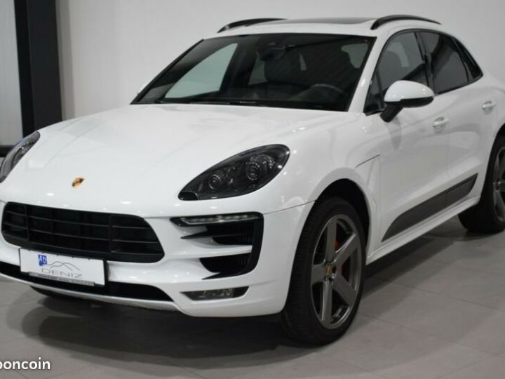 Porsche Macan Turbo * Panorama- / SportDesign- / Carbon Blanc - 1