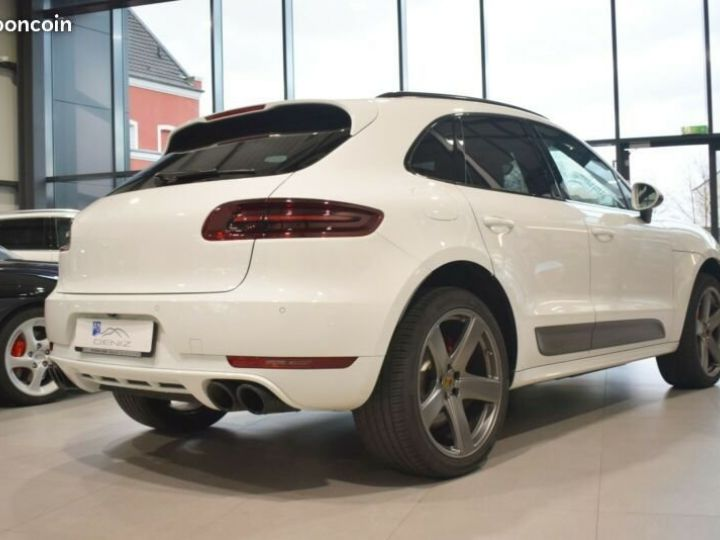 Porsche Macan Turbo * Panorama- / SportDesign- / Carbon Blanc - 2