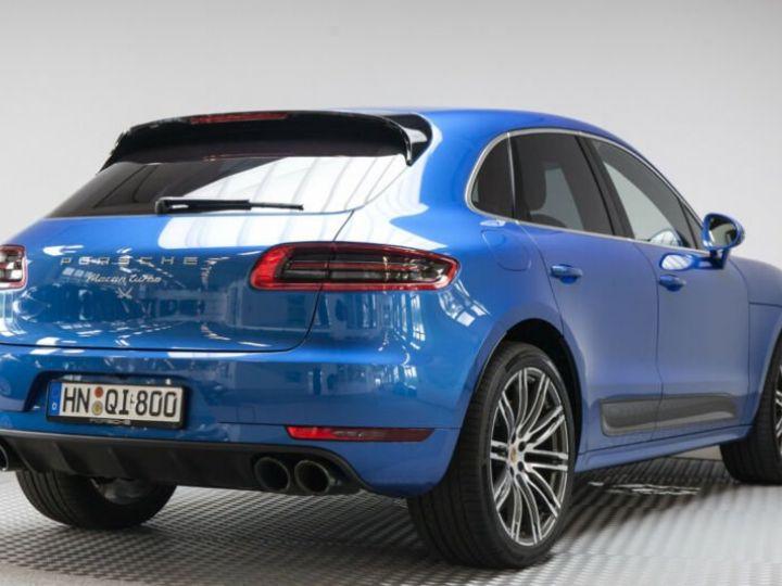 Porsche Macan turbo performance  bleu saphit - 2
