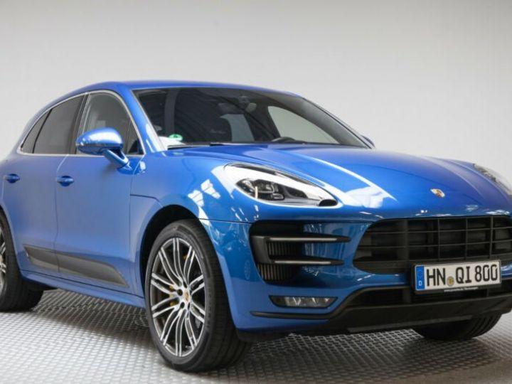 Porsche Macan turbo performance  bleu saphit - 3
