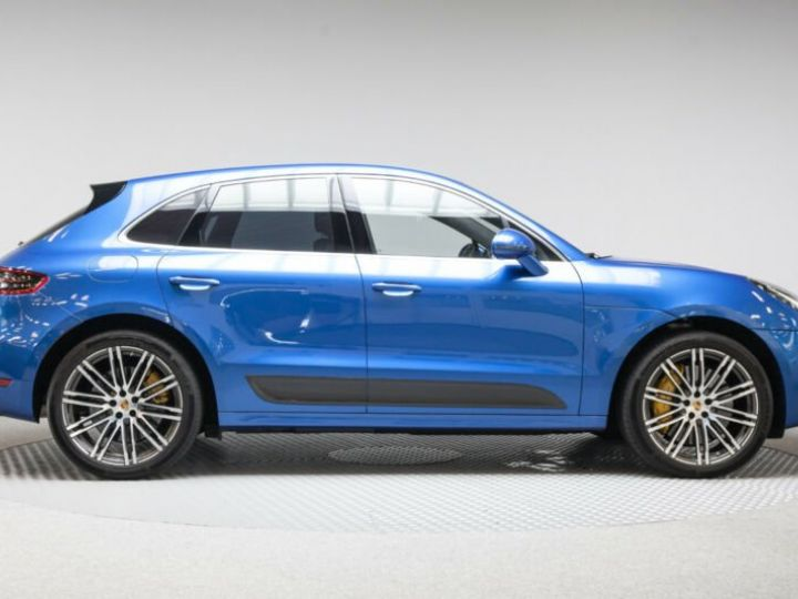 Porsche Macan turbo performance  bleu saphit - 4