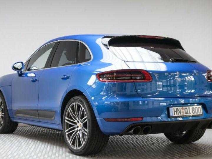 Porsche Macan turbo performance  bleu saphit - 6