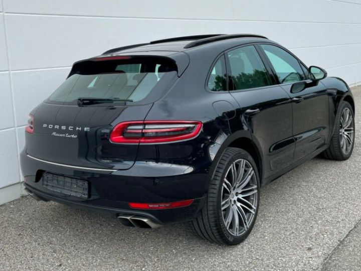 Porsche Macan turbo * porsche approved 2022 *  noir - 6