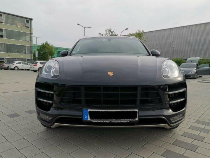 Porsche Macan TURBO , PORSCHE APPROVED 24 MOIS GARANTIE  noir  - 3