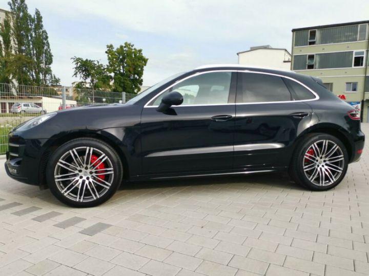 Porsche Macan TURBO , PORSCHE APPROVED 24 MOIS GARANTIE  noir  - 5