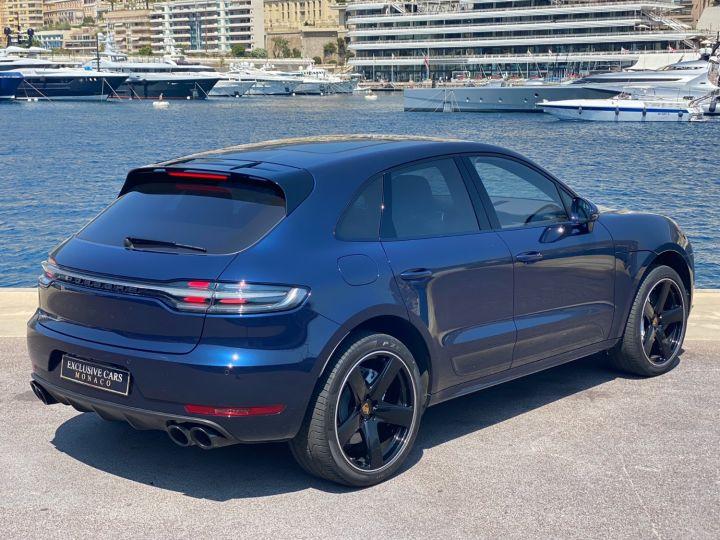 Porsche Macan TURBO V6 PDK 440 CV - MONACO Bleu metal - 3