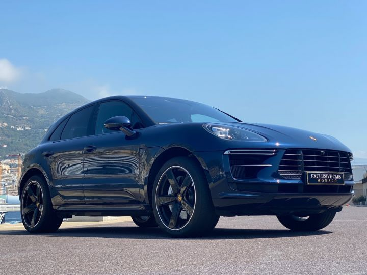 Porsche Macan TURBO V6 PDK 440 CV - MONACO Bleu metal - 13