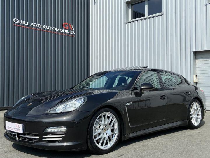 Porsche Panamera 3.0 V6 D 250ch PLATINIUM EDITION TIPTRONIC S GRIS FONCE - 1