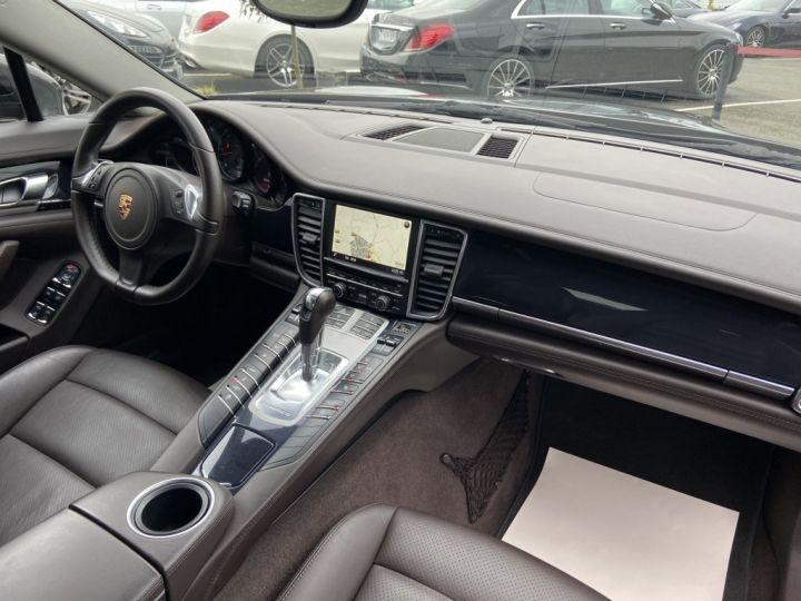 Porsche Panamera 3.0 V6 D 250ch PLATINIUM EDITION TIPTRONIC S GRIS FONCE - 10