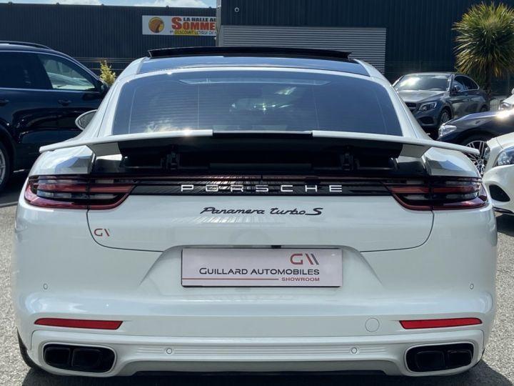 Porsche Panamera 4.0 V8 TURBO S E-HYBRID 680ch PDK BLANC METAL - 6