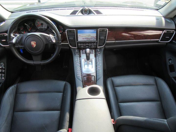 Porsche Panamera 4.8 V8 400CH PDK Gris Carbone Occasion - 9