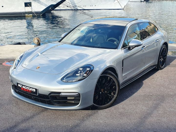 Porsche Panamera GTS SPORT TURISMO Gris Dolomite Occasion - 4