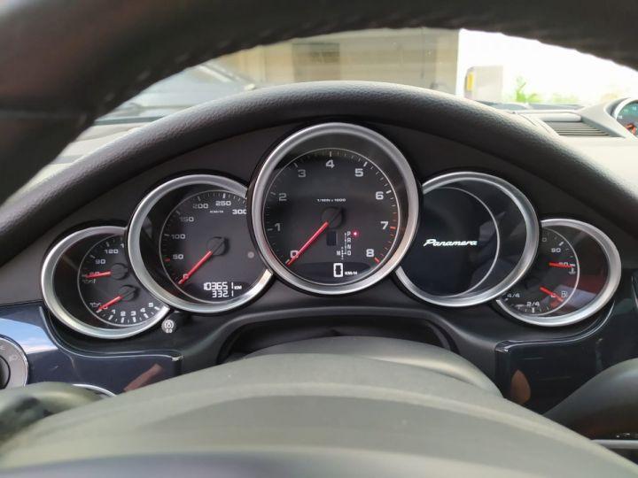 Porsche Panamera I (970) 3.6 V6 PDK 300cv  *Toit pano - cuir - Porsche Approved* Noire - 11