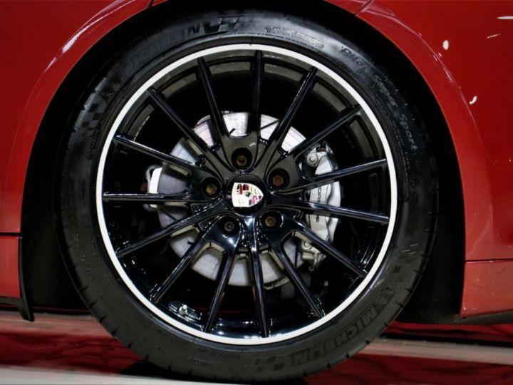 Porsche Panamera I (970) S PDK 4.8 V8 400cv *Cuir beige - Pack Sport - Toit Pano* Livraison et garantie 12 mois Rouge rubis - 7
