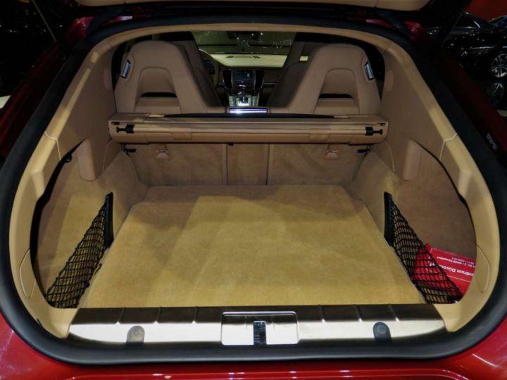 Porsche Panamera I (970) S PDK 4.8 V8 400cv *Cuir beige - Pack Sport - Toit Pano* Livraison et garantie 12 mois Rouge rubis - 12