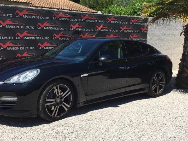 Porsche Panamera Porsche Panamera V6 3.0 250 Diesel Bose Toit Ouvrant Attelage Jantes Turbo 20' Garantie 10 MOIS Noir - 1
