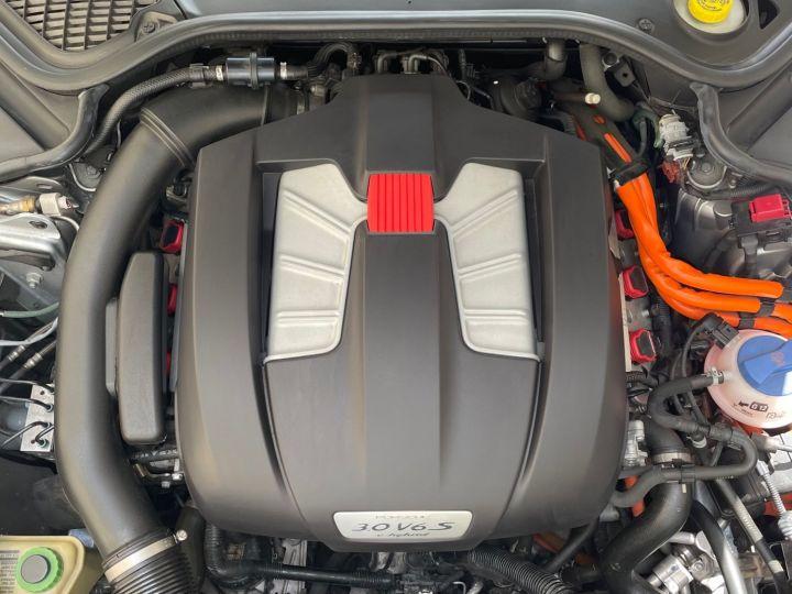 Porsche Panamera PORSCHE PANAMERA V6 3.0 416 S HYBRID Gris - 9