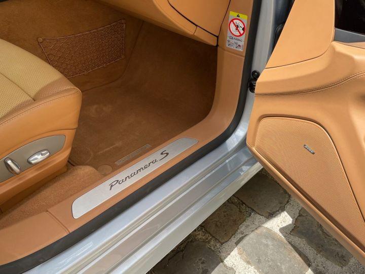 Porsche Panamera PORSCHE PANAMERA V6 3.0 416 S HYBRID Gris - 10