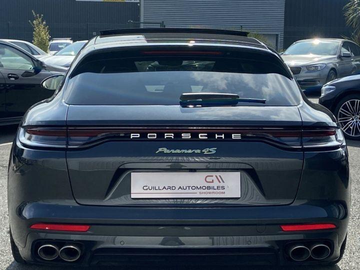 Porsche Panamera SPORT TURISMO 4S E-HYBRID 560ch DCT GRIS FONCE - 7