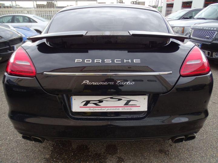 Porsche Panamera TURBO 4.8L 500PS PDK/ PASM ACC JTES 20 Camera Bose  noir metallisé - 7