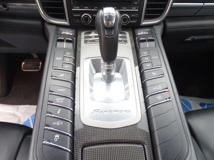 Porsche Panamera TURBO 4.8L 500PS PDK/ PASM ACC JTES 20 Camera Bose  noir metallisé - 17