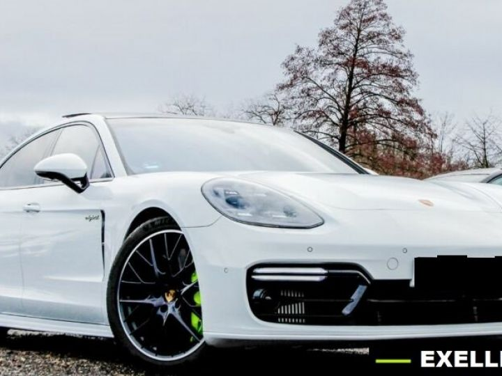Porsche Panamera TURBO S E-Hybrid SPORT CHRONO BLANC PEINTURE METALISE  Occasion - 1