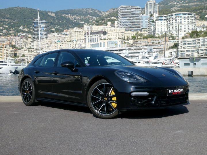 Porsche Panamera TURBO S E-HYBRID SPORT TURISMO Noir Intense Métal Occasion - 5