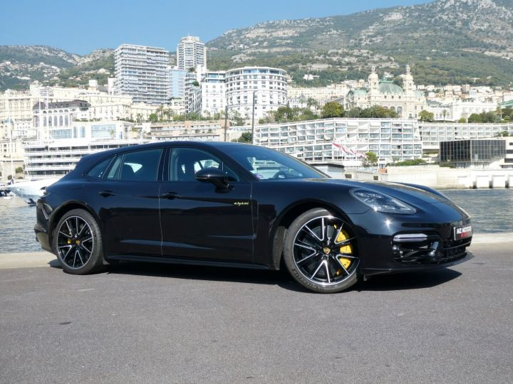 Porsche Panamera TURBO S E-HYBRID SPORT TURISMO Noir Intense Métal Occasion - 8
