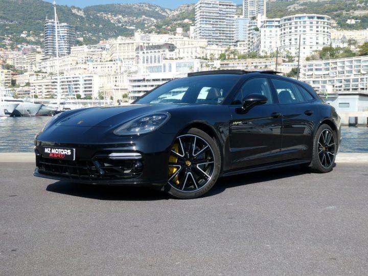Porsche Panamera TURBO S E-HYBRID SPORT TURISMO Noir Intense Métal Occasion - 2