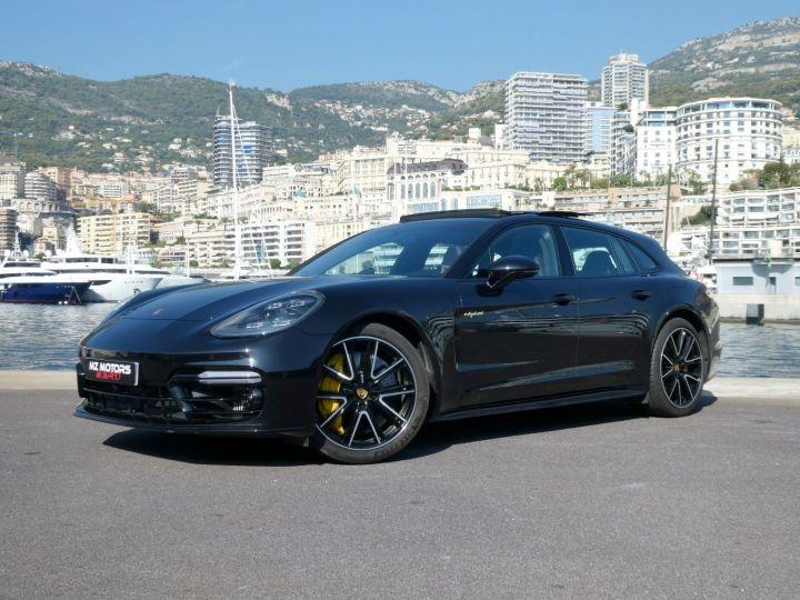 Porsche Panamera TURBO S E-HYBRID SPORT TURISMO Noir Intense Métal Occasion - 4