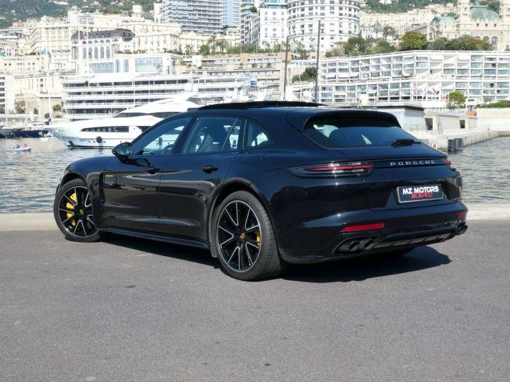 Porsche Panamera TURBO S E-HYBRID SPORT TURISMO Noir Intense Métal Occasion - 10
