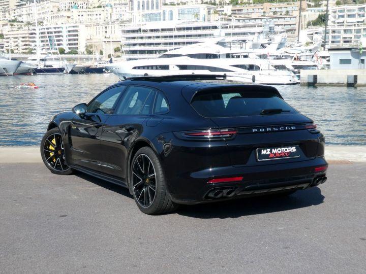 Porsche Panamera TURBO S E-HYBRID SPORT TURISMO Noir Intense Métal Occasion - 12