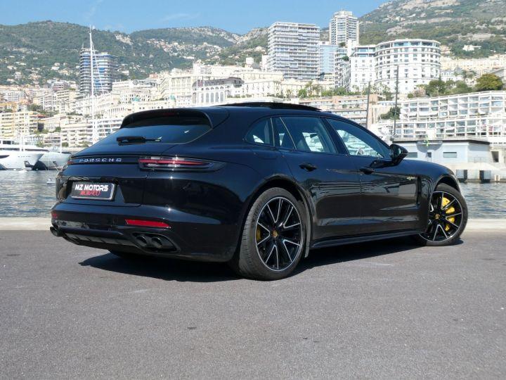 Porsche Panamera TURBO S E-HYBRID SPORT TURISMO Noir Intense Métal Occasion - 14