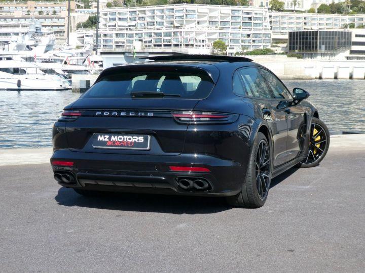 Porsche Panamera TURBO S E-HYBRID SPORT TURISMO Noir Intense Métal Occasion - 16
