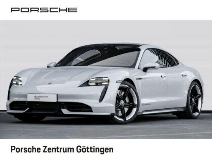 Porsche Taycan TURBO blanc  - 1