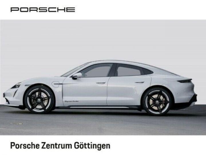 Porsche Taycan TURBO blanc  - 2